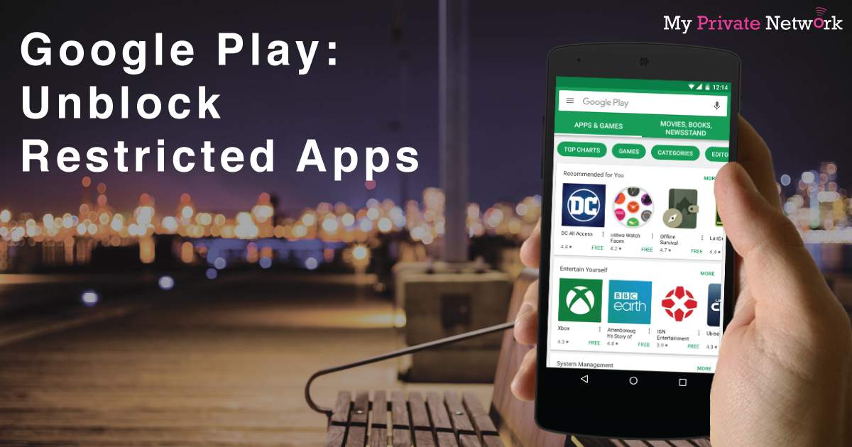 unblock restricted android apps from google playstore