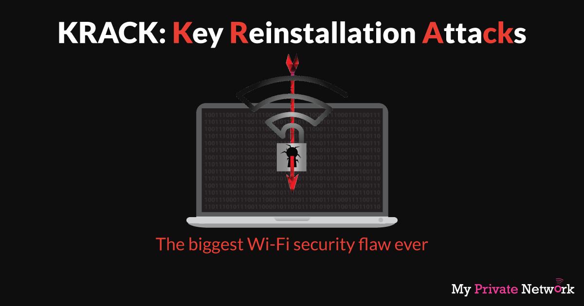 KRACK: Key Reinstallation Attacks