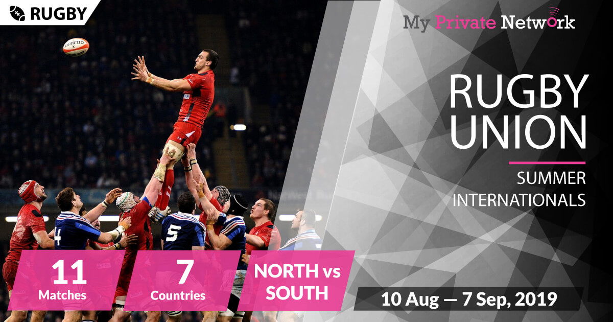 MPN Presents Rugby Union Summer Internationals 2019