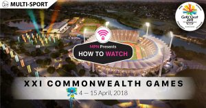MPN Presents Common Wealth Games Gold Coast