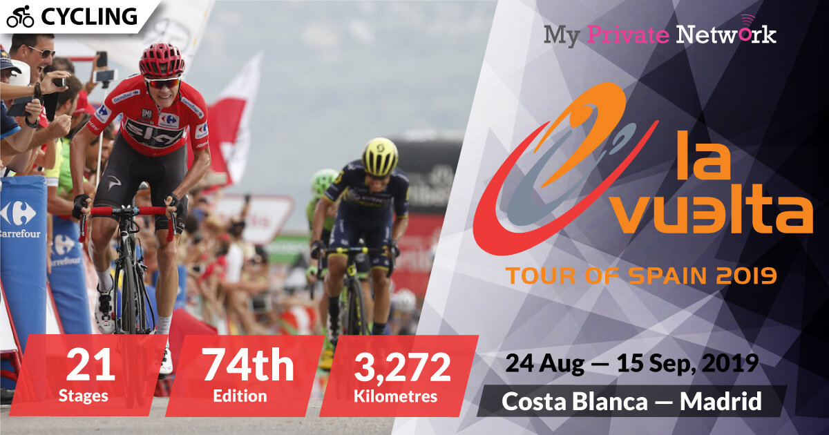 MPN Presents Vuelta a Espana 2019 (Tour of Spain)