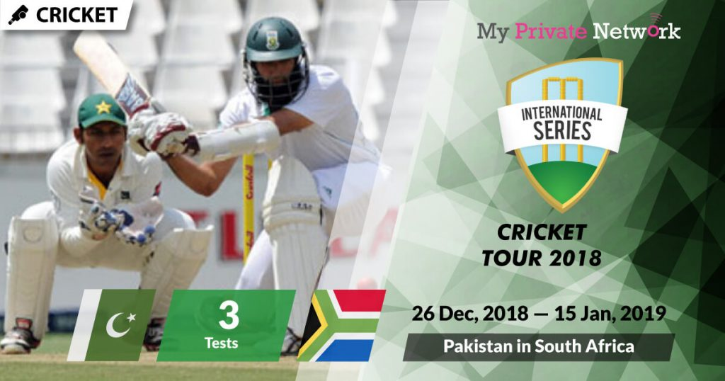 MPN Presents Cricket Pakistan in South Africa