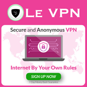 Le VPN Security Sign Up